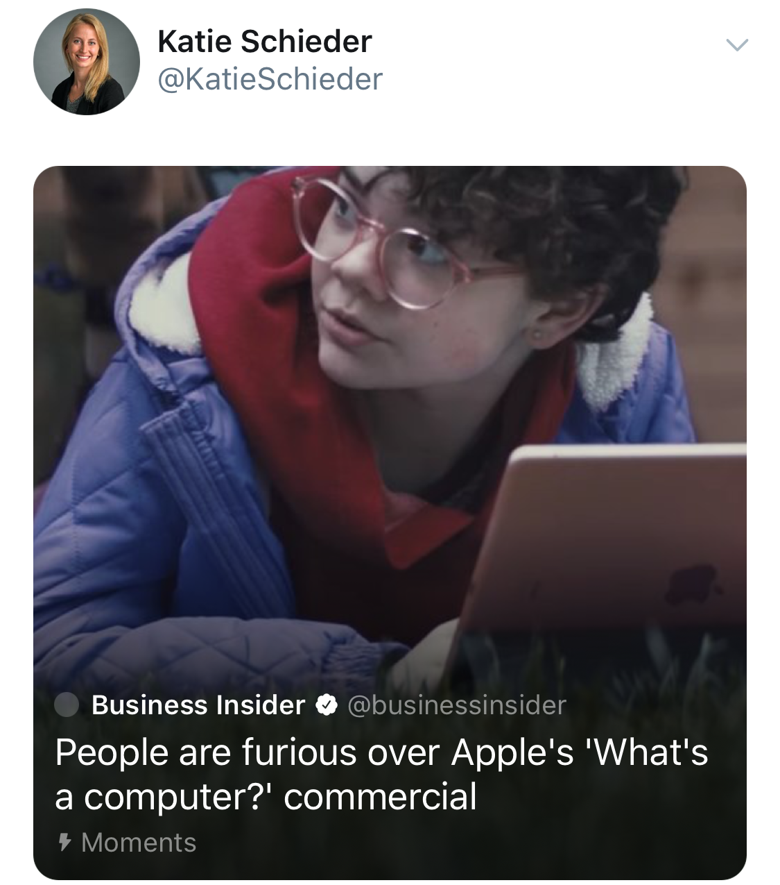 """People Are Furious Over Apple's """"What's a Computer?"""" Commercial"""